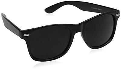 zeroUV ZV 8452h Wayfarer Sunglasses Matte Black 54 mm