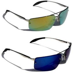 BEONE Men Fashion Polarized Premium Sunglasses Metal Frame M