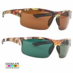 Men's Camouflage Sport POLARIZED Sunglasses Hunting Fishing