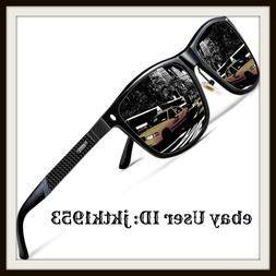 ATTCL Men's Driving Polarized Sunglasses Al-Mg Metal Frame U
