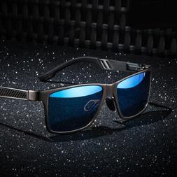 Men's Polarized Aluminium Sunglasses Outdoor Driving Sun Gla