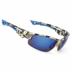 Men's POLARIZED Camouflage Sunglasses Hunting Fishing Outdoo