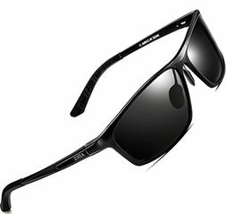 ATTCL Men's Polarized Driving Fishing Golf Sunglasses Al-Mg