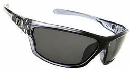 Men's Rectangular Sports Wrap 65mm Polarized Sunglasses