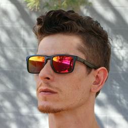 Men's Retro Key hole Style Mirrored POLARIZED Sunglasses Wom