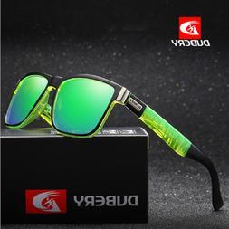 DUBERY Men's Sport Polarized Sunglasses Glasses Cycling Driv