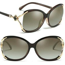 Men Womens Vintage Polarized Sunglasses Round Mirrored Retro