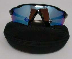 Oakley Mens Radar Shield Sunglasses with cleaning kit
