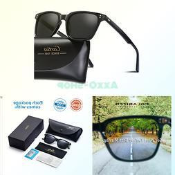 Carfia Men's Sunglasses Polarized 100% UV Protection for D