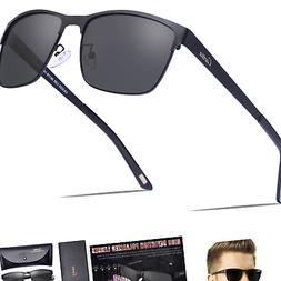 Carfia Men's Sunglasses Polarized UV400 Protection for Dri