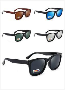 Mens Womens Vintage Fashion Glasses Eyewear Polarised Sport