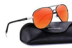 MERRY'S Men's Polarized Driving Sunglasses For Men Unbreakab