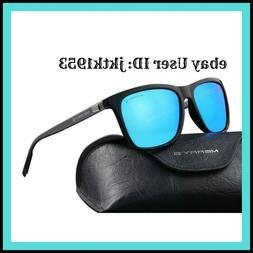 MERRY'S Unisex Polarized Aluminum Sunglasses Vintage Sun Gla