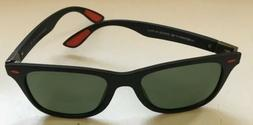 Merry's Polarized Sunglasses, Black With Red Accents, S'