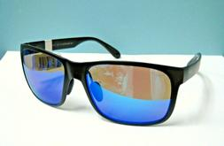 Maui Jim MJ432-2M Red Sands Matte Black Blue Mirrored Polar