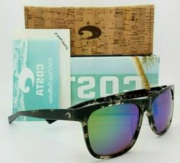 NEW Costa Apalach Sunglasses Black Kelp Green Mirror 580G Gl