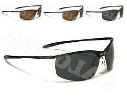 X Loop POLARIZED Sunglasses Half Frame Sport Driving Running