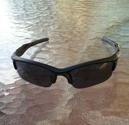 NEW Oakley Half Jacket 2.0  Polished Black w/ Black Iridium