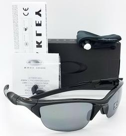 NEW Oakley Half Jacket 2.0 sunglasses Black Iridium Polarize
