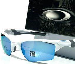 NEW Oakley Half Jacket 2.0 XL sunglasses White Prizm Deep H2