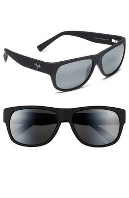 4121d2d7deae New Maui Jim Polarized men Sunglasses MAKAWAO Matte Black Ru