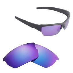 New Walleva Polarized Purple Replacement Lenses For Wiley X Valor Sunglasses