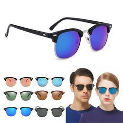New Polarized Retro Sunglasses Mens Womens Vintage Designer