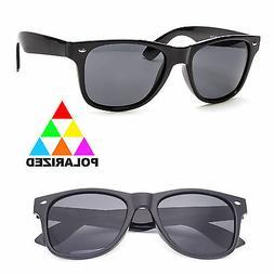 New Polarized Sunglasses Retro Glasses Vintage Frame Unisex