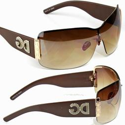 New DG Eyewear Womens Fashion Stripe Designer Sunglasses Sha