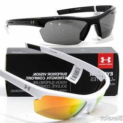 NEW UNDER ARMOUR STRIDE XL SUNGLASSES UA Choose Black/Grey o