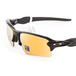 NEW Oakley sunglasses Flak 2.0 XL Black 24K Prizm Polarized