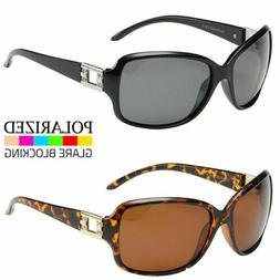 New Women's POLARIZED Sunglasses Rhinestone Designer Shades