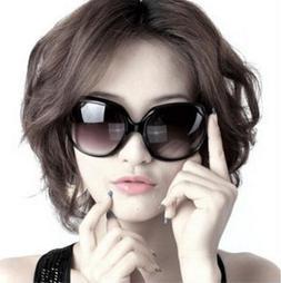 News Womens Fashion Polarized Sunglasses Oversized Retro Des