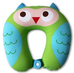 Nido Nest Kids Travel Neck Pillow - Best for Long Flights, R