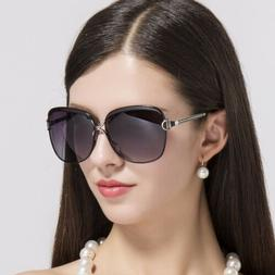 Vintage Sunglasses Women Oversized Polarized Fashion Classic