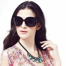 LianSan Oversized Women's Sunglasses Uv400 Protection Polari
