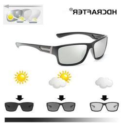Photochromic Sunglasses Mens Polarized Eyewear Transition Le