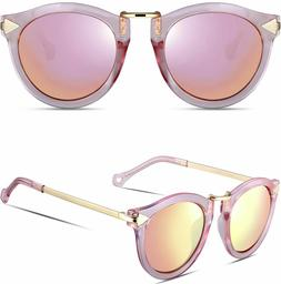 ATTCL PINK Vintage Fashion Arrow Style Polarized Sunglasses