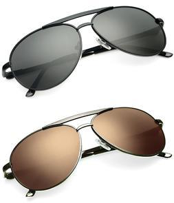 Polarized Aviator Men's Women's Sunglasses Driving Fishing A