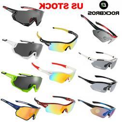 ROCKBROS Polarized Bike Sunglasses Cycling Goggles Sports Gl