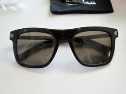 Salvatore Ferragamo Polarized Classic Square Sunglasses SF78