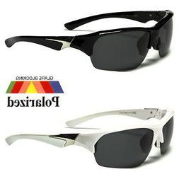 Polarized Large Fishing Driving Sunglasses Men's Glasses Bla