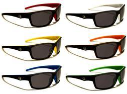 Nitrogen polarized lenses trendy matte-frame Sunglass 100% U