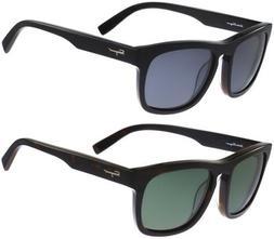 Salvatore Ferragamo Polarized Men's Classic Square Sunglasse