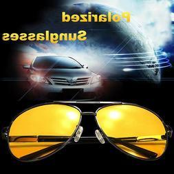 Polarized Mens Sunglasses Night Vision Anti Glare Driving Fi