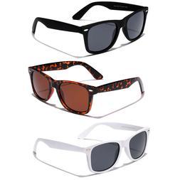 POLARIZED Men Women Vintage Retro 80s Sunglasses Fishing Gol