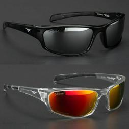 Polarized Mens Wrap Around Fashion Sunglasses Fishing Golf R