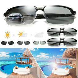 Polarized Photochromic Sunglasses Men's UV400 Driving Transi