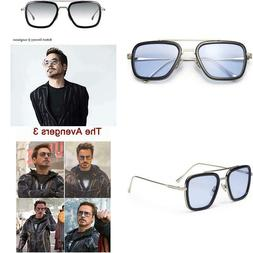Liansan Polarized Retro Square Sunglasses Metal Frame For Me