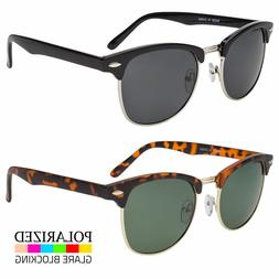 Polarized Retro Sunglasses Mens Womens Vintage Designer Meta